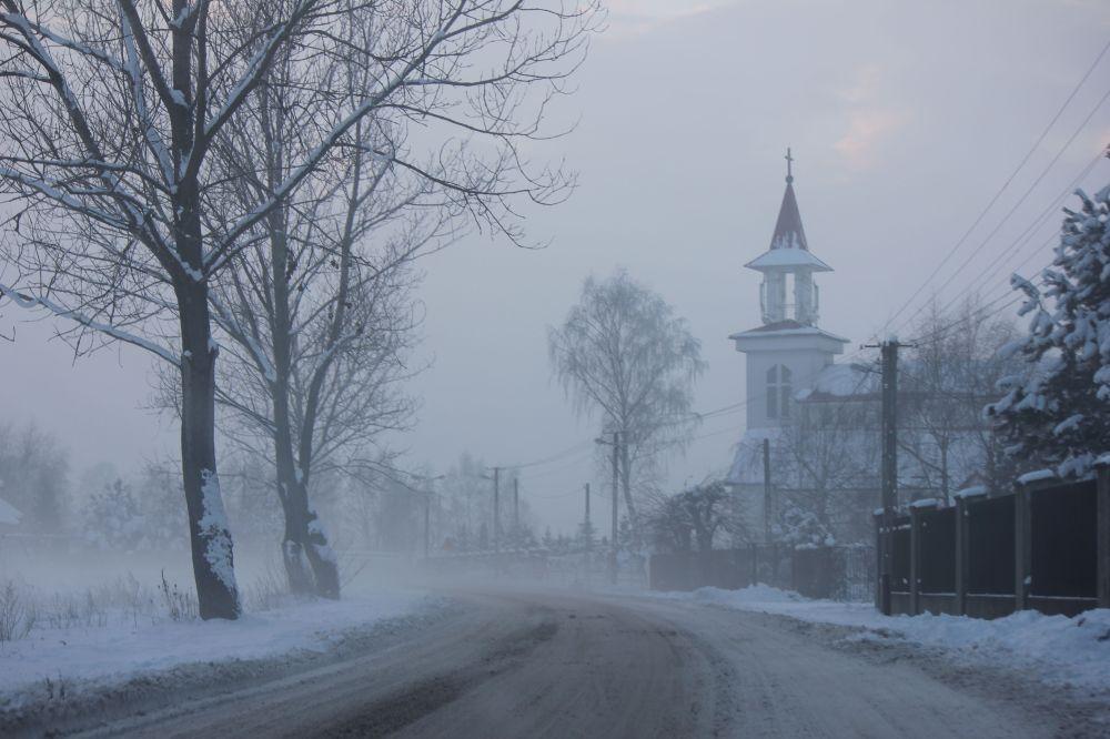kościół_zima_polska_mazowsze_śnieg