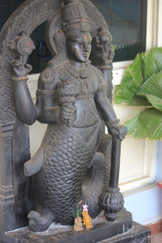 bogini_ryba_syrena_indie_karnataka_muzeum_suvannamatcha_posąg