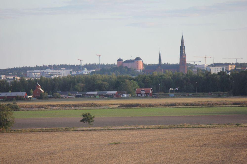 panorama_uppsali_zamek_katedra