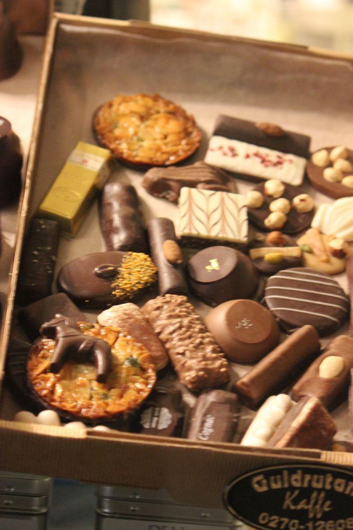 szwedzkie cukierki słodycze ciastka czekoladowe