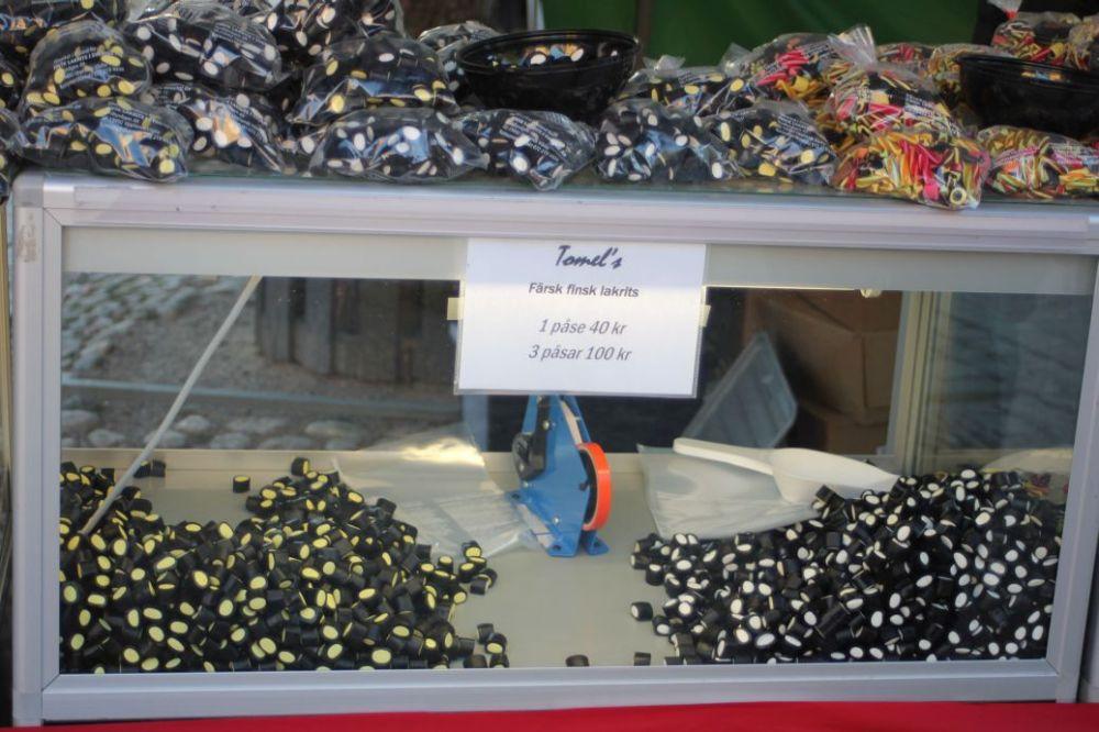 lukrecjowe żelki słodycze szwedzkie