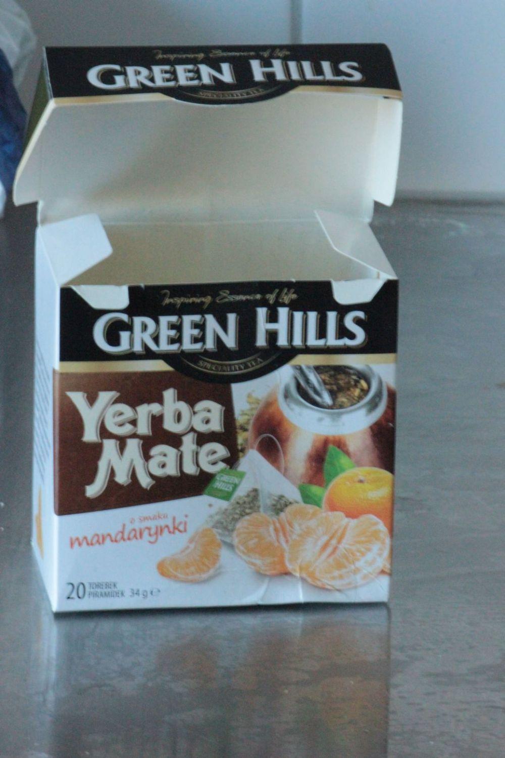 green hills yerba mate herbata biedronka