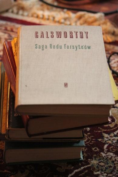 saga_rodu_forsyte-ów_calsworthy_książka_oprawa_plótno