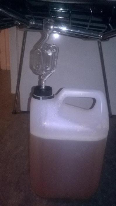 rurka nastaw cydr wino korek rurka fermentacyjna jak zamocować