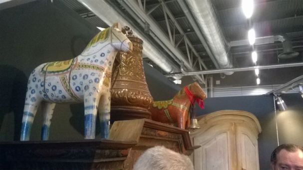 stare konie z drewna szwedzki koń z dalarna old wooden horses