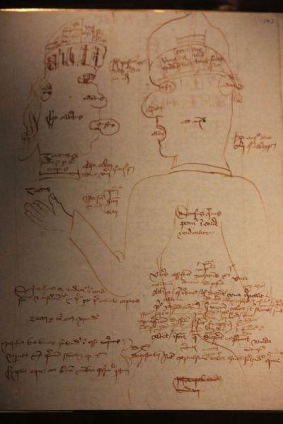 pierwszy student w Uppsali zapiski średniowieczne wiek XV stary manunskrypt muzeum w uppsali