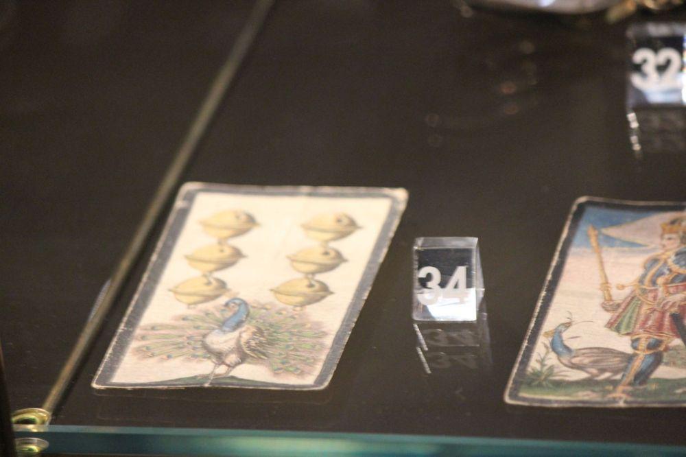 stare karty zabytkowe karty do gry malowane karty ręcznie malowane karty średniowieczne karty