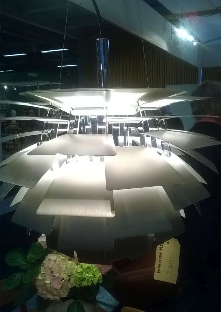 The artichoke lamp lampa karczoch Poul Henningsen design dizajn