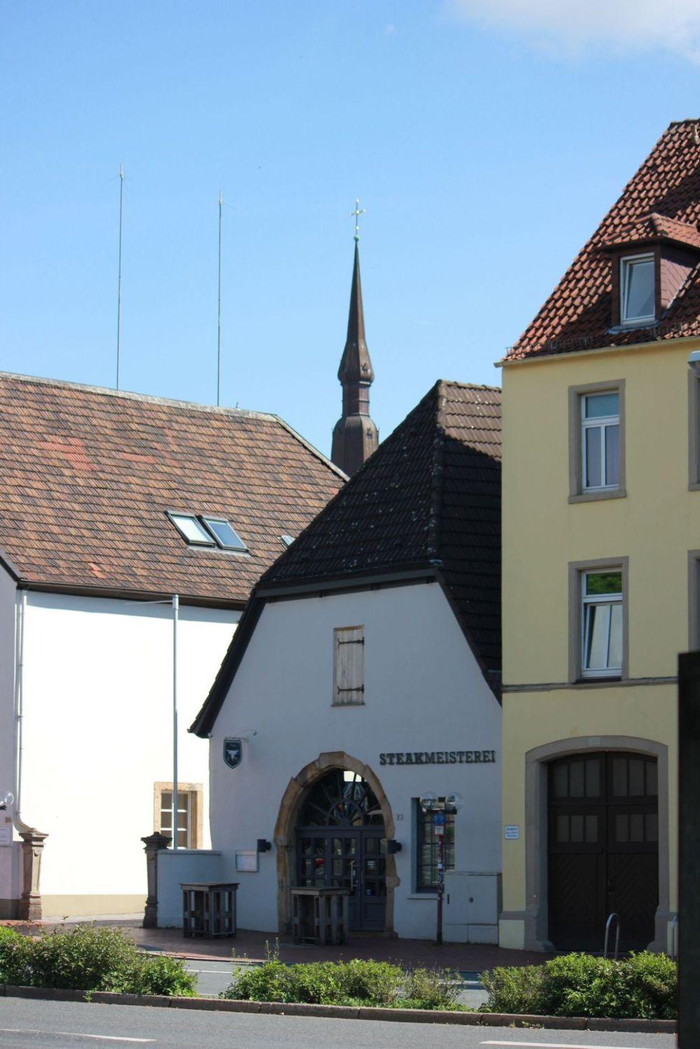 osnabruck starówka niemieckie miasteczko