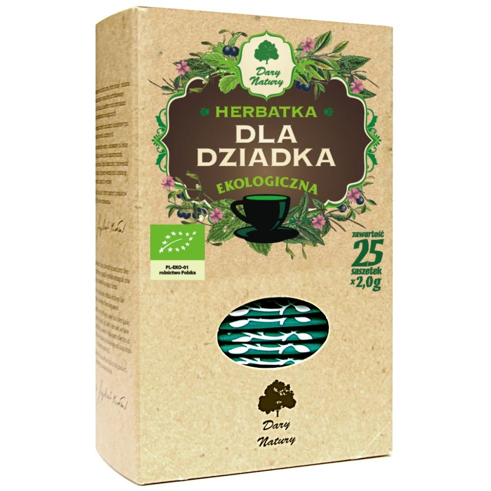 herbatka dla dziadka dary natury