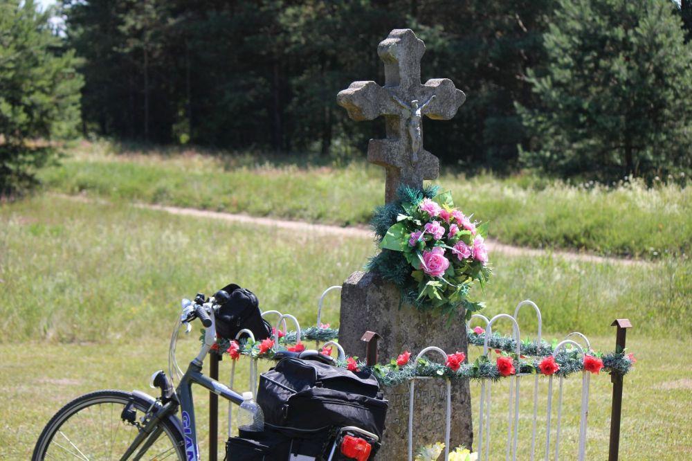 zubki podlasie krzyże prawosławne kapliczki granica białoruska przejście kolejowe