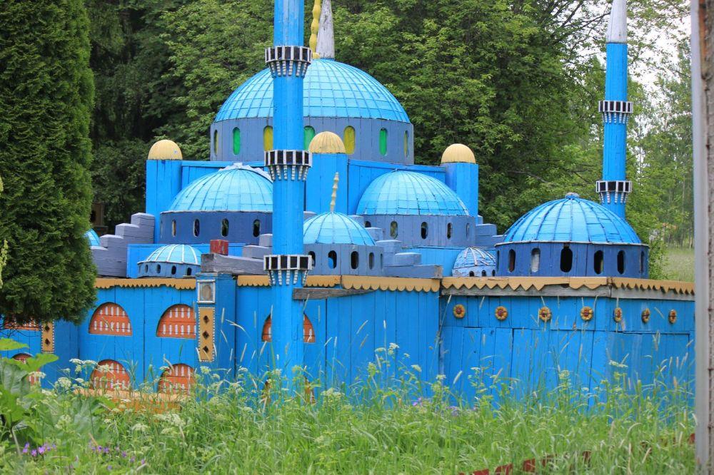 hagia sofia meczet istambul replika mniejsza sala szwecja