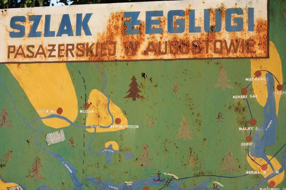 szlak żeglugi pasażerskiej w augustowie stare tablice duchologia