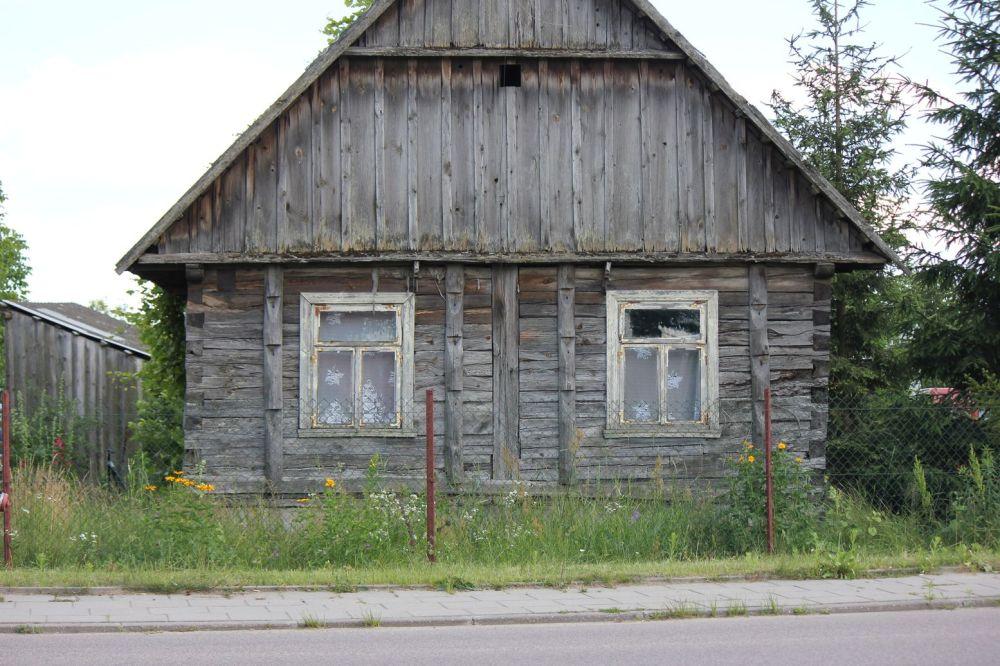 gródek podlasie architektura zabytkowe chaty drewniane