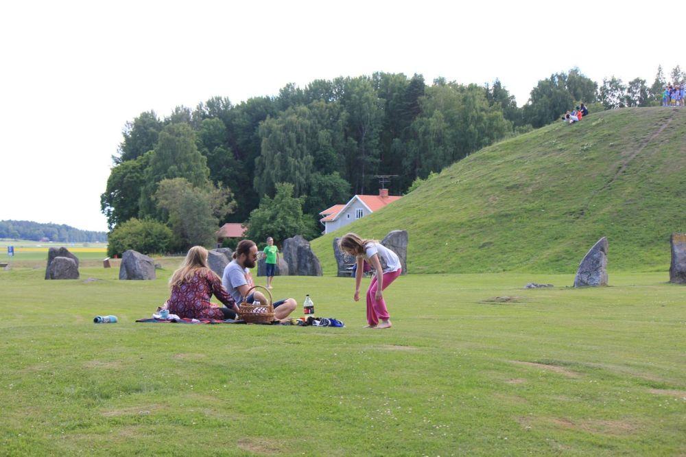 anundshog szwedzki piknik na grobie