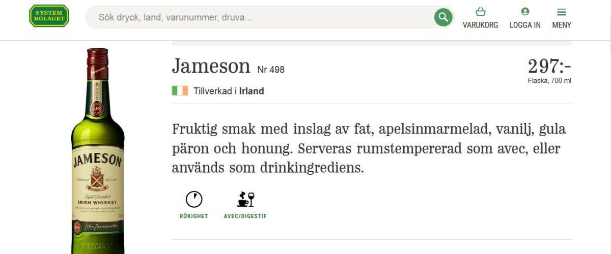 Alkohol w Szwecji czyli wszystko o Systembolaget