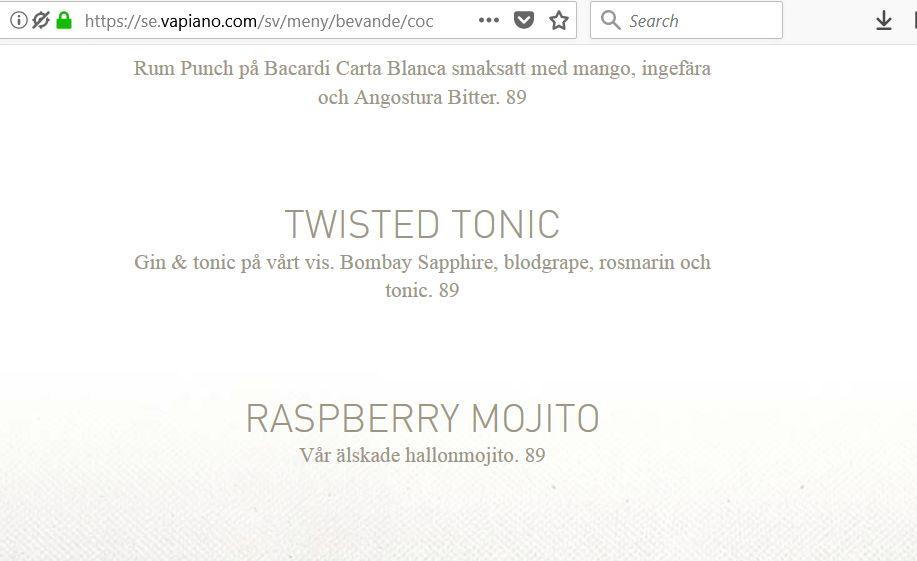 menu_mohito_szwecja_ceny_alkohol_polityka