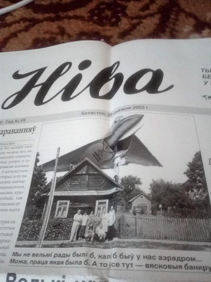 lotnisko-topolany_podlasie_niwa_czasopismo_białoruskie_kolaż