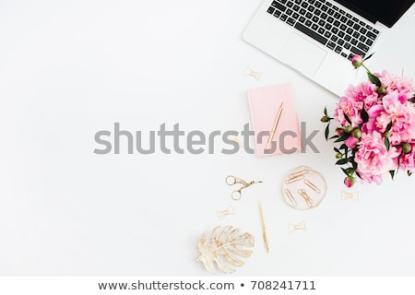 Zdjęcia biurka z góry czyli