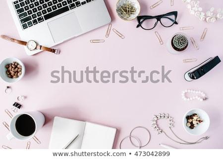 flat-lay-top-view-office-450w-473042899.jpg